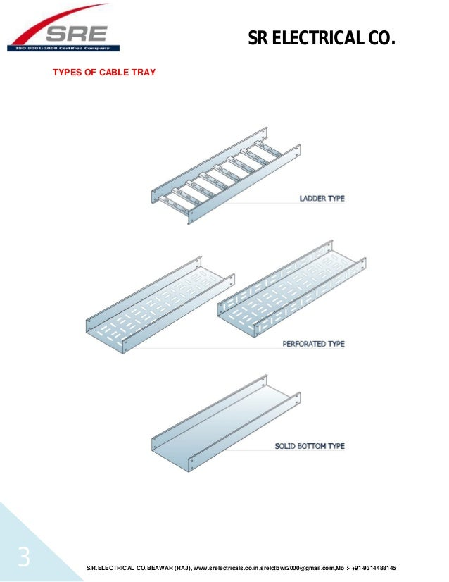Contents sre cable tray