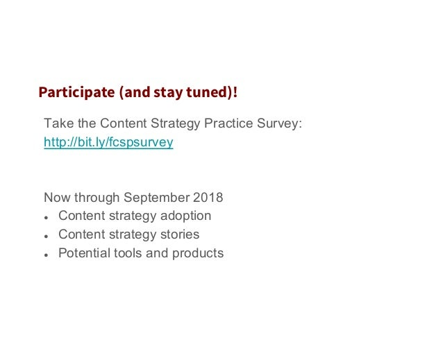 Emerging Strategies for Creating and Managing Content