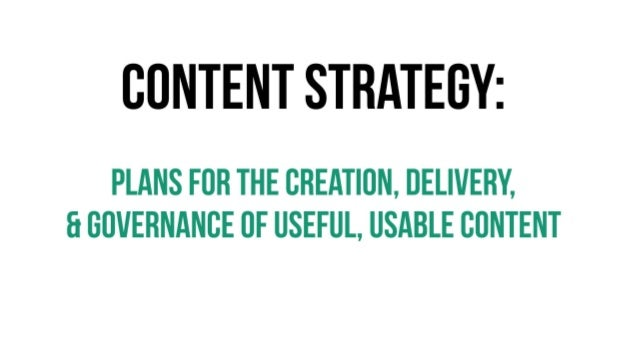 Content Doesn't Grow on Trees - Intruduction to Content Strategy Slide 3