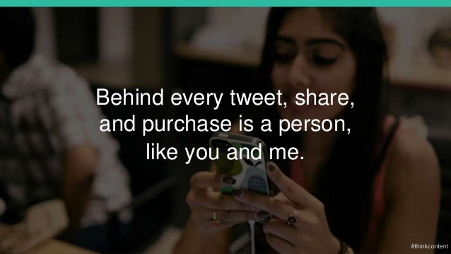 Behind every tweet, share, and purchase is a person, like you and me.