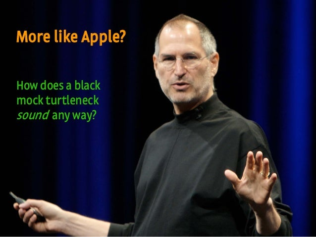 #gilbaneboston | @mbloomstein 38 Appropriate, Inc. © 2010 More like Apple? How does a black mock turtleneck sound any way?