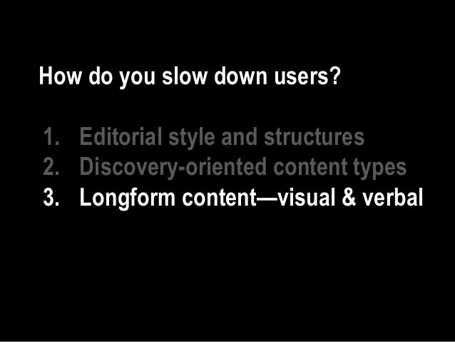 © 2018 56 | #generateconf | @mbloomstein • Slow down • Act deliberately • Focus