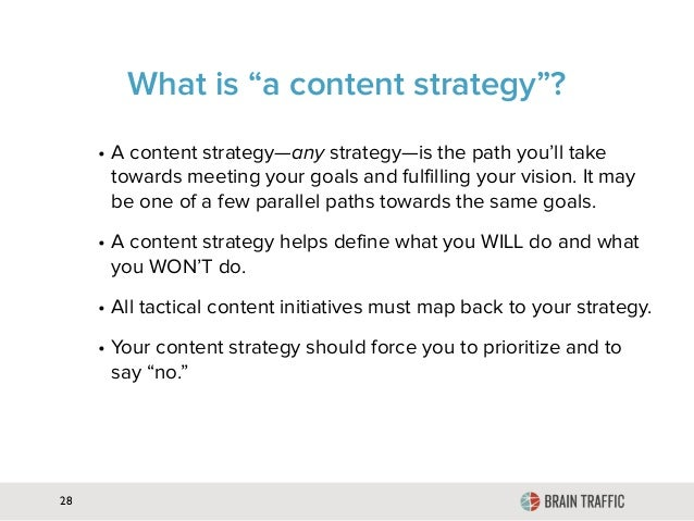 Content Strategy for Everything Slide 28