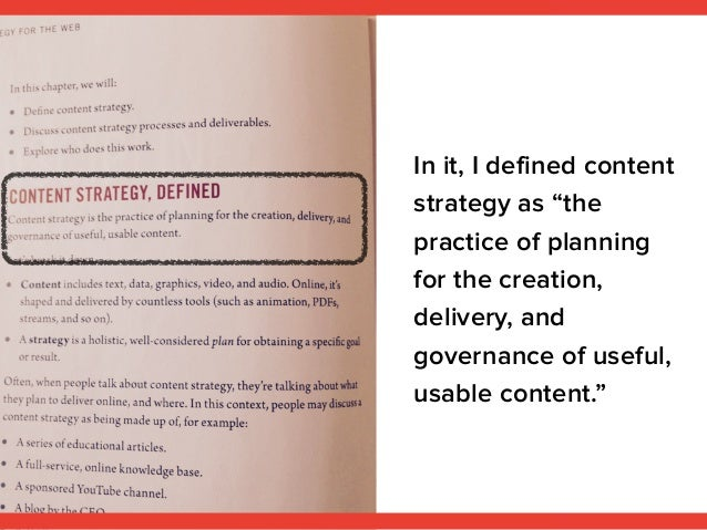 Content Strategy for Everything Slide 3