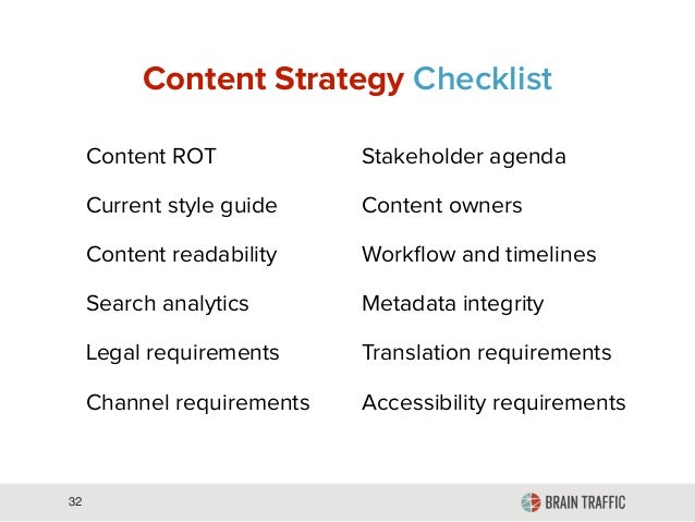 Content Strategy for Everything Slide 32