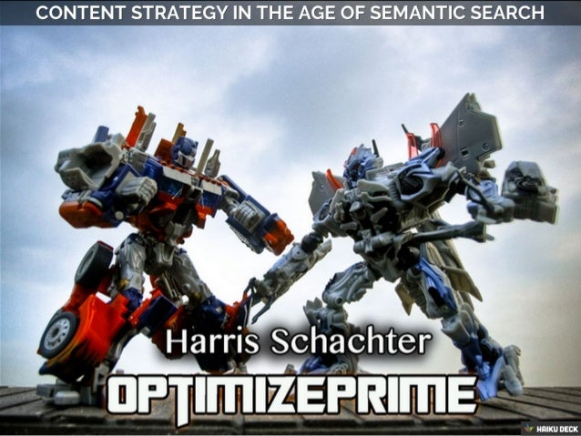 Content Strategy In The Age Of Semantic Search