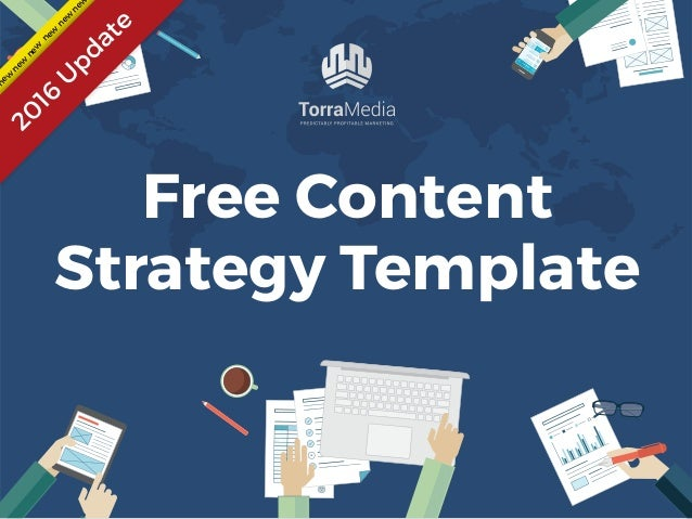 Content Strategy Template For 2016