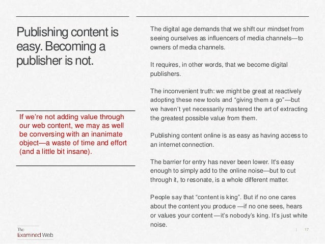 Finding our content sweet spot Slide 17