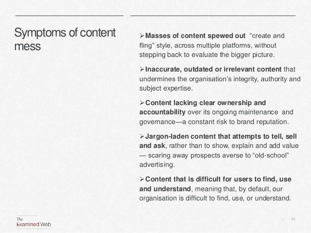 Finding our content sweet spot Slide 21