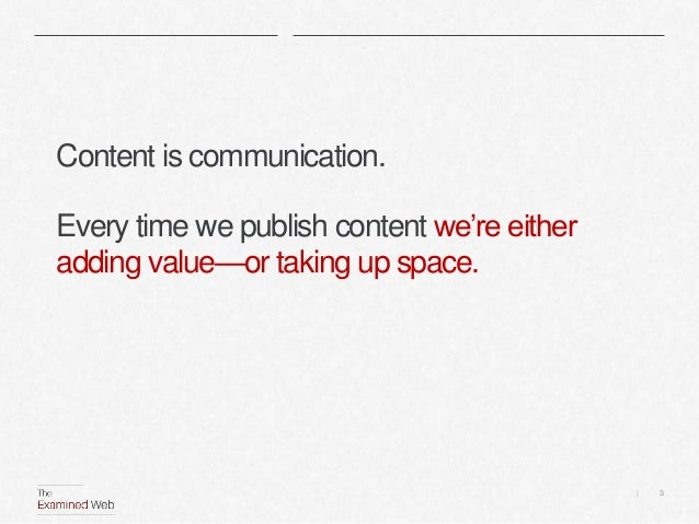 Finding our content sweet spot Slide 3