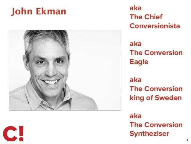 John Ekman 3 aka The Chief Conversionista ! aka The Conversion Eagle ! aka The Conversion king of Sweden ! aka The Convers...