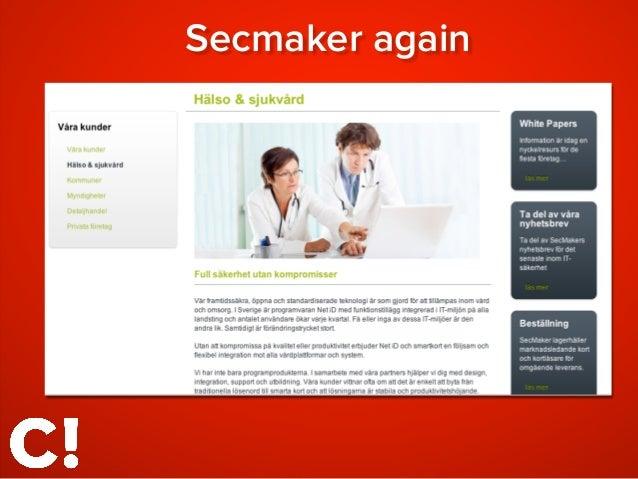 Secmaker again