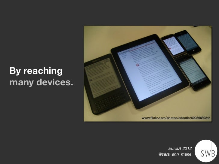 Content that Travels: Euro IA 2012 Slide 3