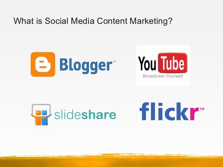 What is Social Media Content Marketing?