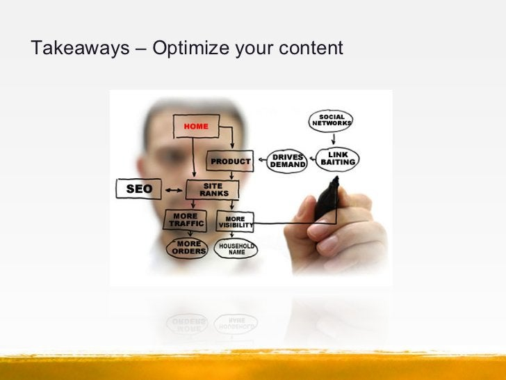 Takeaways – Optimize your content