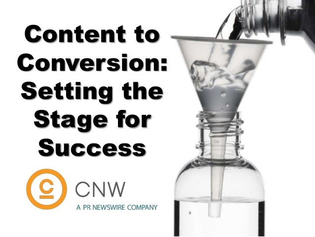 Content to Conversion: Setting the Stage for Success