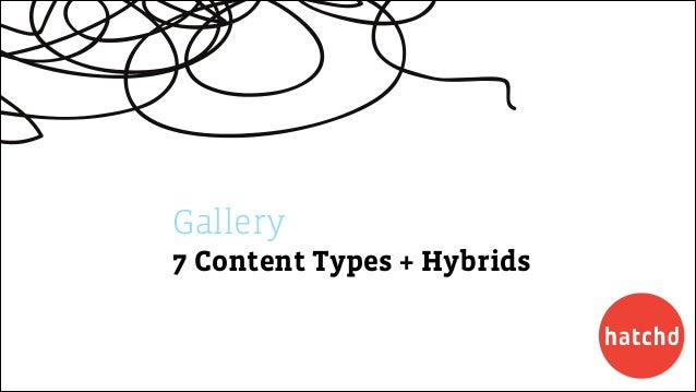 Gallery 7 Content Types + Hybrids