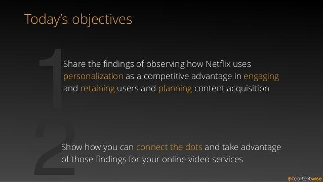 netflix objectives