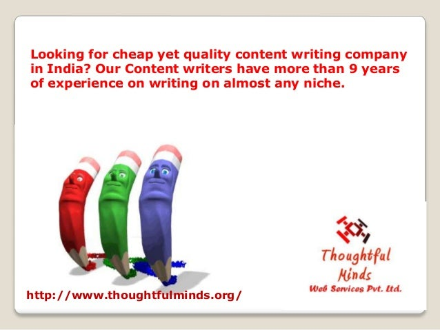 Indian content writing companies