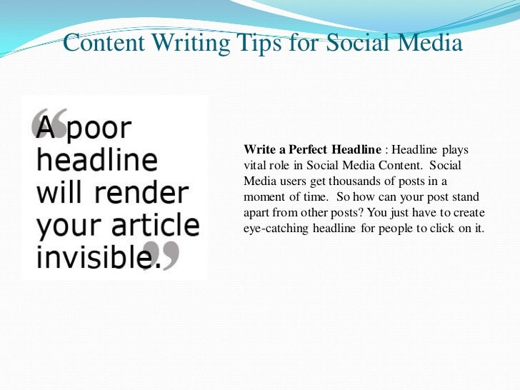Exclusive Content Writing Tips for Social Media