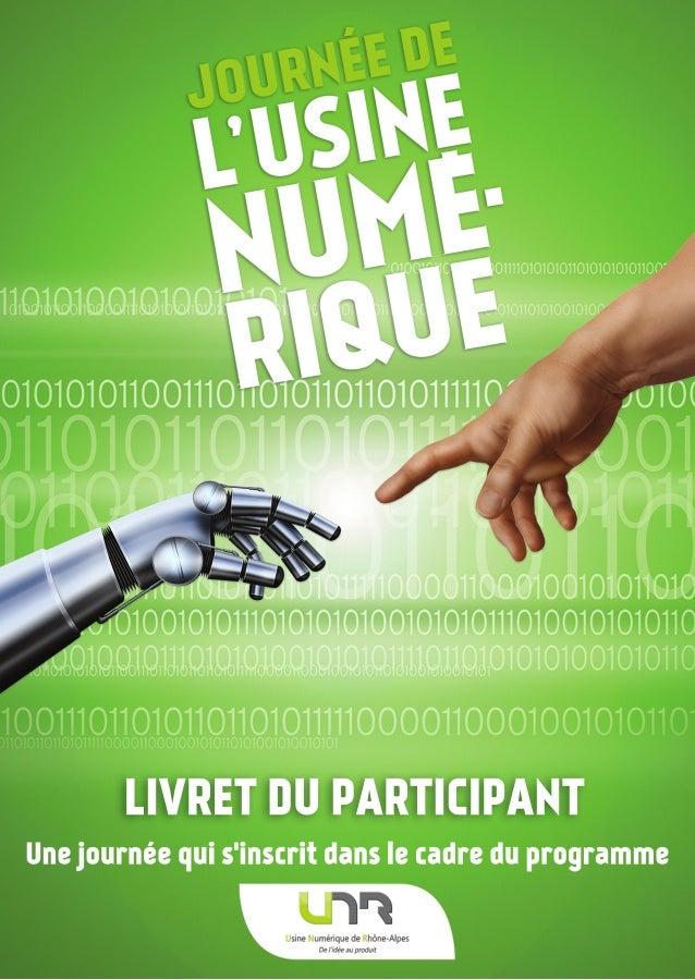 LIVRETDUPARTICIPANT Unejournéequis'inscritdanslecadreduprogramme