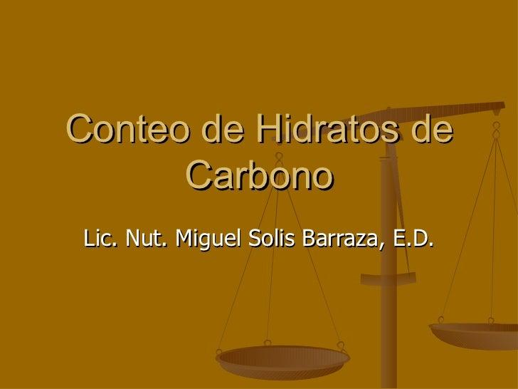 Conteo de hidratos_de_carbono m. solis