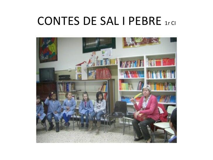 CONTES DE SAL I PEBRE 1r CI