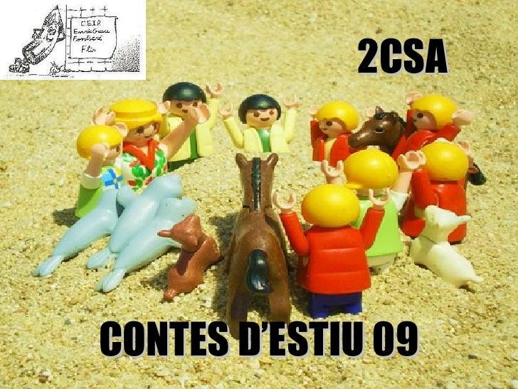 CONTES D'ESTIU 09 2CSA