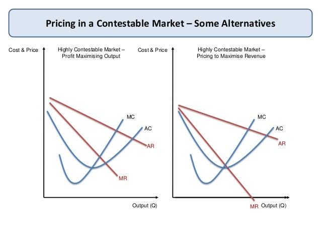 the theory of the contestable market
