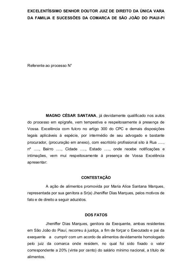 EXCELENTÍSSIMO SENHOR DOUTOR JUIZ DE DIREITO DA ÚNICA VARADA FAMILIA E SUCESSÕES DA COMARCA DE SÃO JOÃO DO PIAUI-PIReferen...