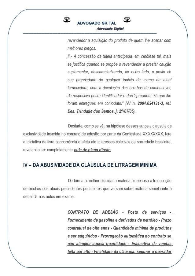 Ação Revisional De Clausula Contratual C C Tutela Antecipada