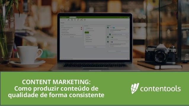 Definição de personas e mapa da jornada de compra CONTENT MARKETING: Como produzir conteúdo de qualidade de forma consiste...