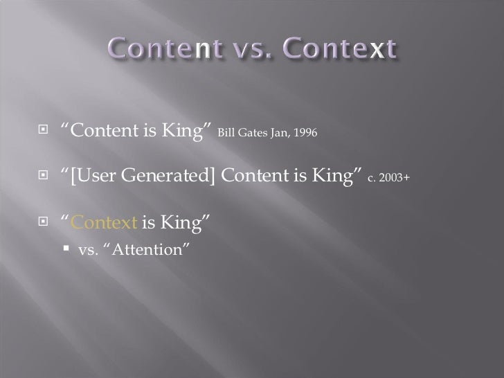 Context Is King: Lessons from Online Communities Slide 3