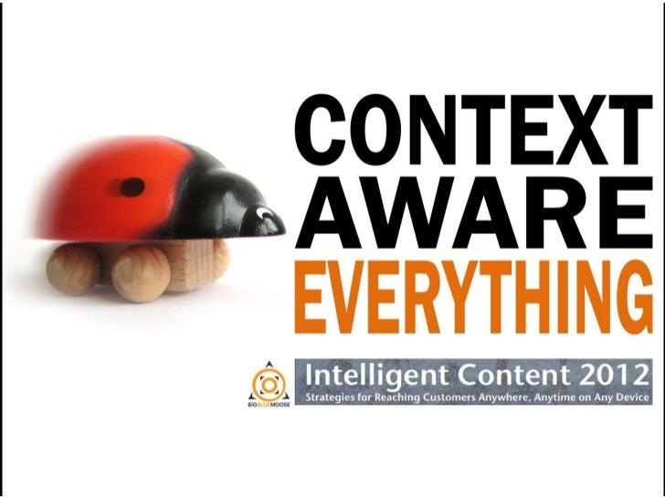 Context Aware Everything