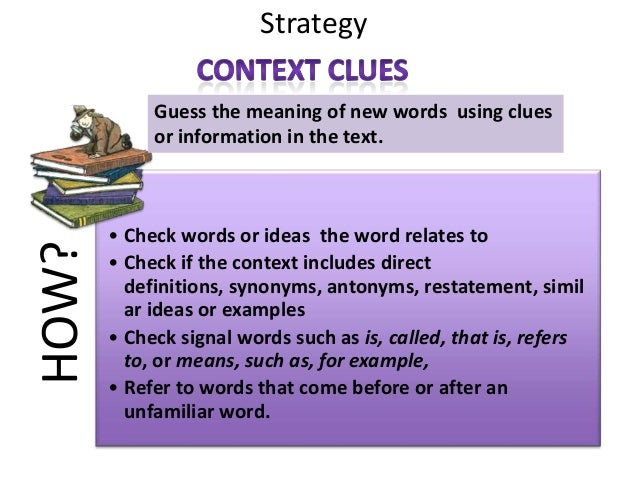 Context Clues Strategies and Graphic Organizer by 3rdwithMrsMadison