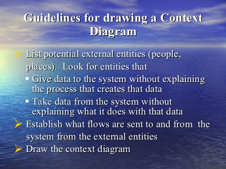 Context diagram 7 guidelines for drawing a context diagram ccuart Image collections