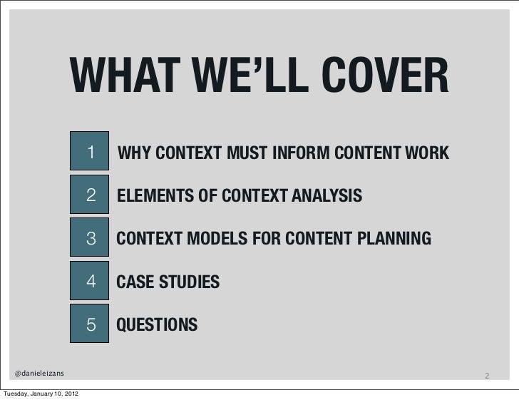 Context Modeling For Web Development Slide 2