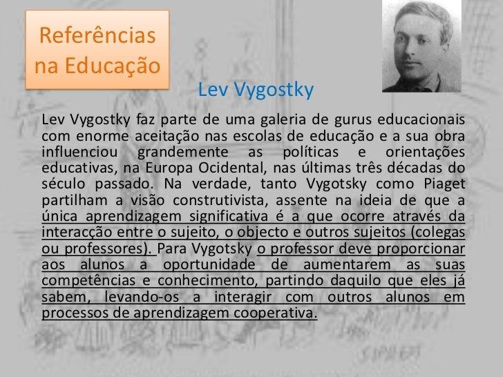 Referências na Educação<br />Célestin Freinet<br />Foi um pedagogo francês contribui para a reforma da educação. Hoje em d...