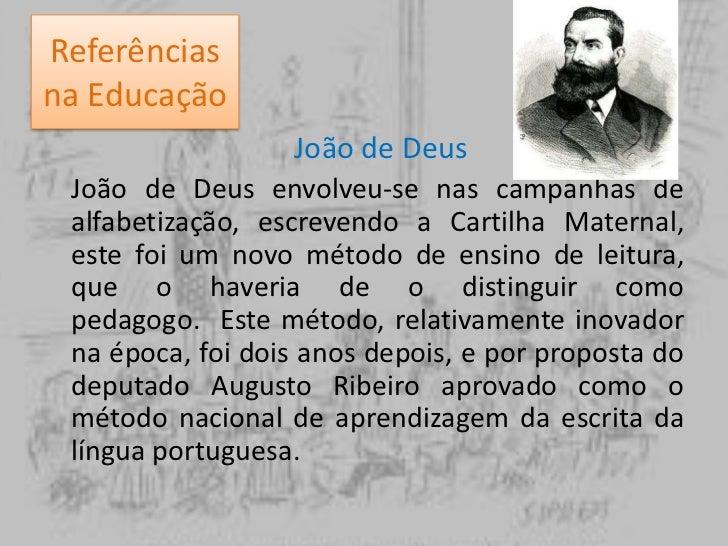 Referências na Educação<br />Jean Jacques Rousseau<br />Rousseau foi um dos primeiros a distinguir a psicologia da educaçã...