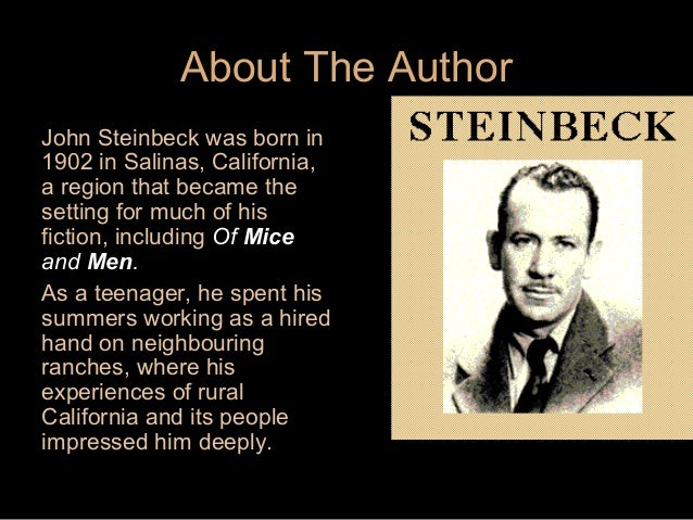 of mice and men context discrimination Crooks is discriminated because of the color of his skin  novelette, of mice and  men he shows themes of the time like discrimination of afro-american people,.