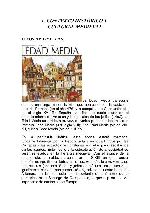 Contexto histórico medieval