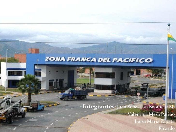 Integrantes: Juan Sebastián Betancur M.                    Valentina Mesa Patiño                       Luisa Maria Zapata ...