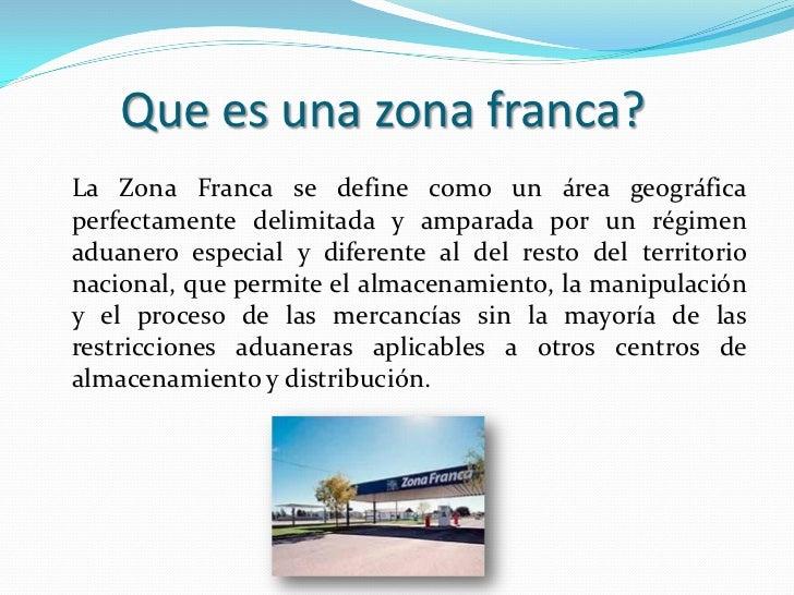 Zonas  francas en Colombia Slide 2