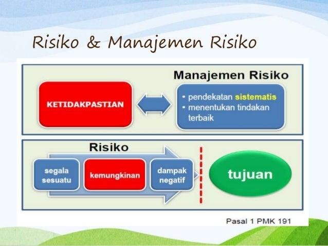 manajemen risiko Pengelolaandan pemantauan risiko setiap divisi fungsi manajemen risiko dan owner risk divisi telah melaksanakan assessment manajemen risiko dan terjaring risiko.