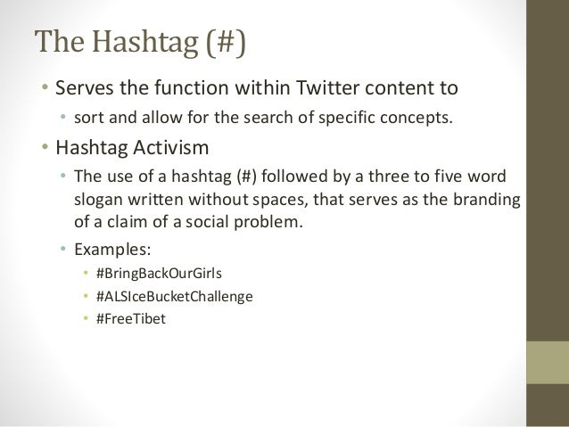 Contextual Analysis Of Hashtag Activism For The Purpose Of Identifyin