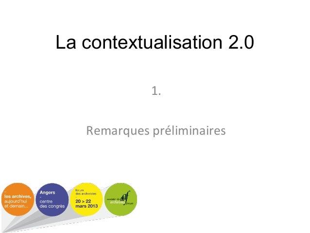 Contextualisation 2.0 Slide 2