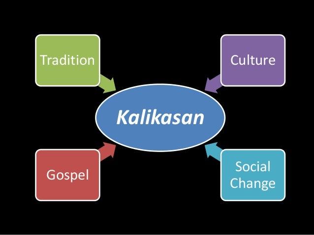 Tradition Culture  Kalikasan  Gospel  Social  Change
