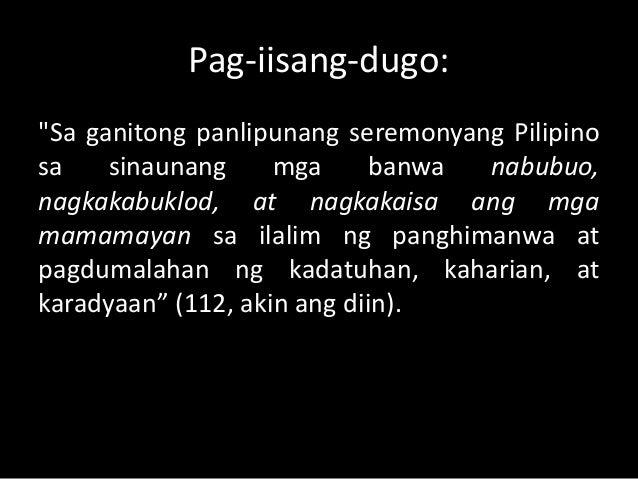 Gawain sa mga Grupo  1. Disaster – praying for typhoon to iwas and it  does. Ibig ba'ng sabihin mas banal ang mga  naiwasa...