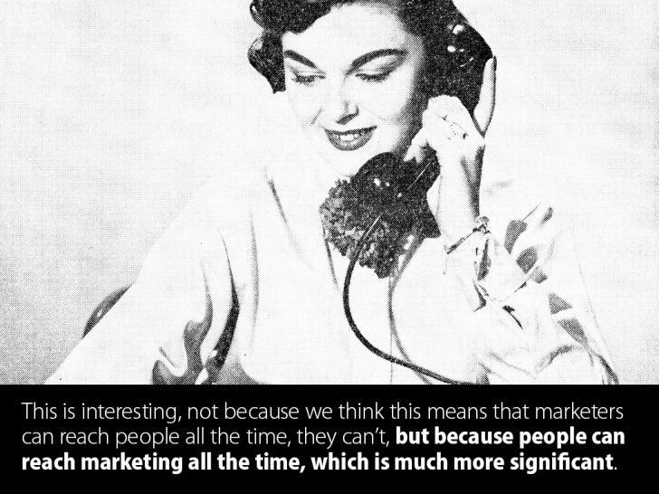 Context, Value & The New Marketing Economy  Slide 3