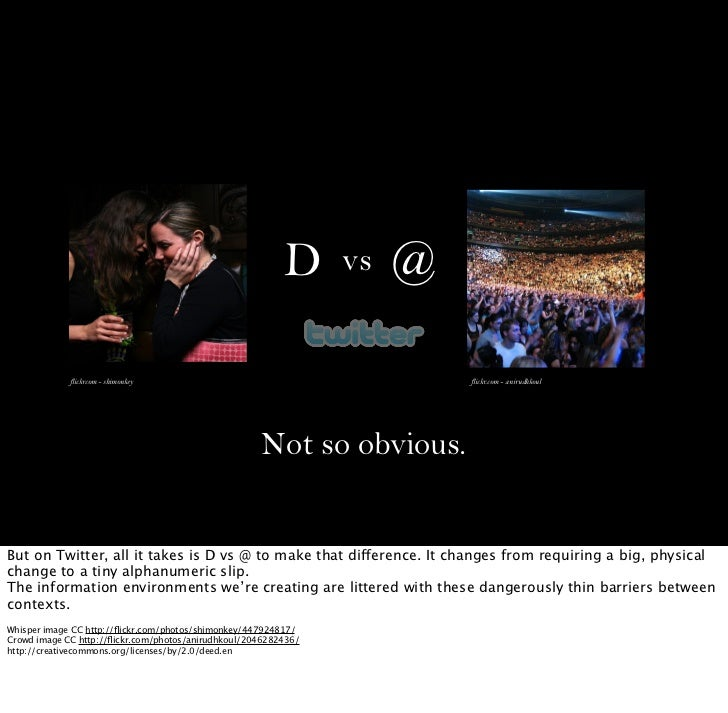 D      vs   @             flickrcom - shimonkey                                        flickr.com - anirudhkoul           ...